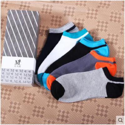 豆豆鞋夏季透气袜子男短袜潮牌隐形船袜棉袜低腰低帮男人袜浅口袜