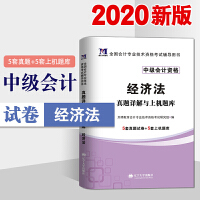 中级会计职称考试2020经济法真题详解与上机题库 全国会计专业技术资格考试辅导用书