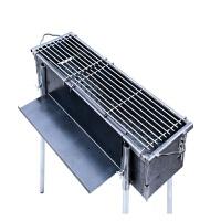 户外烧烤炉家用木炭全套工具野外烤串炉子烧烤架商用摆摊大号加厚