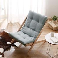 懒人沙发榉木折叠椅躺椅实木沙滩椅阳台老人休闲椅子简约现代躺椅