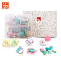 好孩子新生儿玩具婴儿牙胶益智宝宝手摇铃3-6-12个月0-1岁手抓球