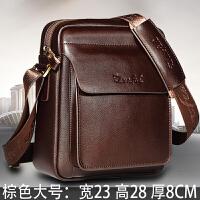 12新款真皮包包斜挎包男包单肩包男士商务休闲男人牛皮包挂包背包
