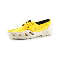 aal 时尚撞色拼接面料镂空透气设计简约舒适系带帆船鞋11420821