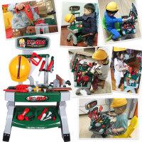 过家家仿真儿童工具箱螺丝刀维修理台3-56周岁男孩子宝宝玩具套装