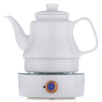 唐丰德化白瓷电水壶电热功夫茶炉大容量电茶壶家用保温陶瓷烧水壶