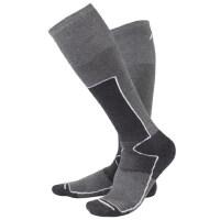 户外长筒袜子运动袜户外长筒冬季保暖滑雪袜徒步加厚防寒