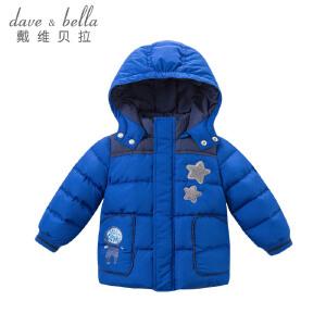 davebella戴维贝拉冬季羽绒服男童加厚保暖羽绒服DBZ6689