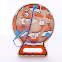 Hape垂钓乐迷宫2-6岁磁性运笔走珠迷宫儿童益智创意玩具早教益智游戏E1700