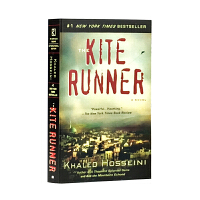追风筝的人 英文原版小说 英文版 The Kite Runner 卡勒德.胡赛尼 灿烂千阳 群山回唱作者 当代文学小说