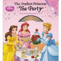 Read-Along系列:The Perfect Princess Tea Party 迪士尼公主茶会(精装+CD) I