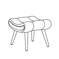 北欧蜗牛椅懒人躺椅现代简约卧室休闲老虎椅阳台单人布艺沙发椅子