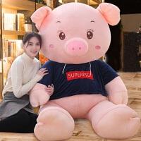大号毛绒玩具小抱枕可爱猪公仔玩偶布娃娃女孩生日礼物猪年吉祥物