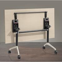 折叠办公桌米多功能可移动会议桌可折叠桌自由组合培训学生桌