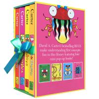 正版 A Box of Bugs 4 Pop-up Concept Books 一盒子虫子4册立体书 英文原版 全英文版