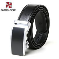SABER+GEAR军刀男士商务休闲自动扣皮带SG930