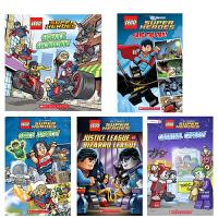 顺丰发货 Lego DC comics DC Universe super heroes 乐高DC漫画超级英雄6本套装 儿童分级绘本读物 图画趣味故事书Save the Day