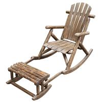 阳台实木摇椅欧式午睡椅摇摇椅休闲懒人躺椅老人椅摇椅逍摇椅