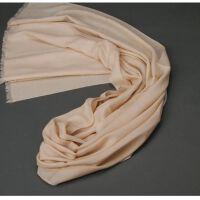 2015发布 秋冬季纯羊毛围巾女纯色100支斜纹纯羊毛围巾披肩时尚润帛