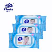 维达婴儿手口80片湿巾3包装