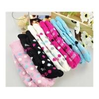 冬季毛线手套 女 韩版加厚保暖绒 可爱连指手套 款式*