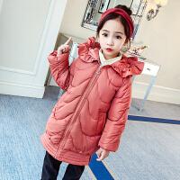 韩版时尚9中大童10公主11冬装12岁棉袄潮女童装洋气