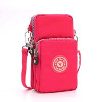 新款韩版手机包女斜挎包手机袋挂脖手腕装零钱包迷你小包包竖