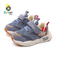 芭芭鸭宝宝鞋1-3岁男童机能鞋软底学步鞋女童鞋运动2019秋季新款