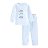 【2件3折价:61】小猪班纳童装宝宝衣服儿童家居服套装2019春季新款男小童长袖套装