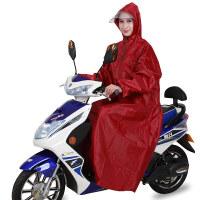 雨衣电动车有袖带袖成人男女单人加大加厚电瓶摩托车雨衣