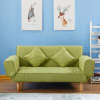 家用懒人沙发布艺沙发出租房沙发床小户型省空间双人沙发折叠床