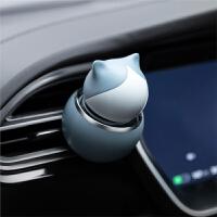 车载香水可爱装饰品汽车用出风口持久淡香氛车内香薰固体香膏