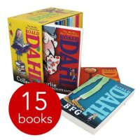 Roald Dahl Complete Collection (15 Books) 罗尔德 达尔15册收藏套装ISBN9780141349985