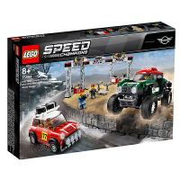 【当当自营】LEGO乐高积木超级赛车系列75894 MINIJohnCooper越野赛车