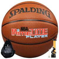 斯伯丁篮球74-418防滑耐磨室内外用PU篮球