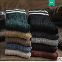 袜子女中筒袜冬季羊毛袜粗线韩版堆堆袜学院风日系长袜女加厚保暖