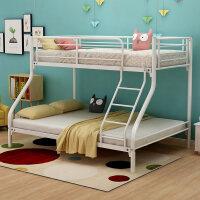 古木记铁艺床钢木床上下铺母子床双层床铁床高低床铁架床 1500mm*2000mm