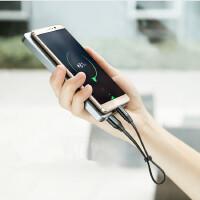 便携充电数据线0.23米短款适用三星Note9华为小米8手机Type-C