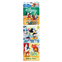 Disney 迪士尼拼图 迷你认知小框拼图 儿童益智玩具 我的理想职业 3图双混 DP01-07-01