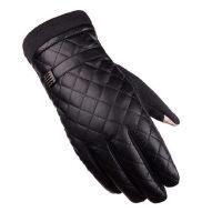 男士皮手套触屏加绒保暖开车骑车防滑防风商务户外薄款手套