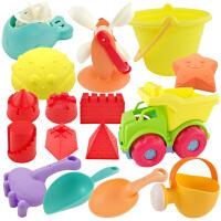 儿童铲子玩具桶玩沙子工具大号海滩挖沙玩具宝宝沙滩玩具套装组合