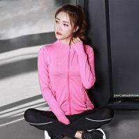 瑜伽服 女士秋冬季新款学生高弹力长袖跑步运动服女式潮流时尚健身三件套瑜伽套装