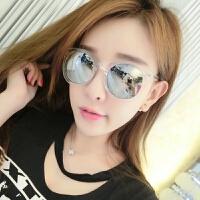 墨镜女潮明星款网红圆脸韩国优雅眼镜2018新款圆形个性太阳镜女士