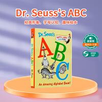 低幼适龄版 培训机构 学校推荐英语作业 Dr. Seuss's ABC An Amazing Alphabet Book! 苏博士的ABC 字母书 幼儿启蒙认知读物 儿童英文原版童书 亲子读物 纸板书