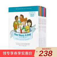 【升级版】英文原版进口童书 One Story A Day for Early Readers 365个英语天天故事会