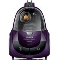 Philips/飞利浦FC8472吸尘器 家用吸力强劲无耗材除螨吸尘器1600瓦 紫色清洁效果新体验