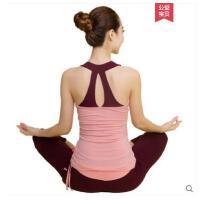 瑜伽运动服显瘦气质吊带背心运动瑜伽服女套装性感显瘦韩国时尚健身服