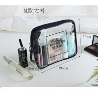 旅行洗漱包收纳袋男化妆包手拿包女防水透明便携整理包浴包洗浴包