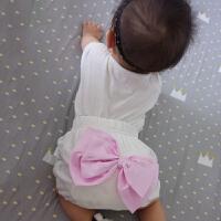 婴儿童可爱潮款春款裤子宝宝01岁6个月新生儿外出服季短裤