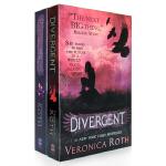 顺丰包邮 Divergent Insurgent Veronica Roth 分歧者 叛乱者 两本套装电影封面 英文原