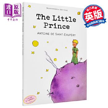 【中商原版】小王子 英文原版小说 The Little Prince 圣埃克苏佩里 童书 儿童读物 儿童文学  经典英文学习读物 畅销小说 外国小说 充满诗意而又温馨的美丽童话